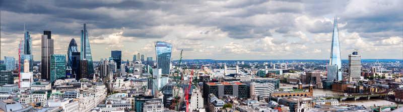 伦敦城市全景