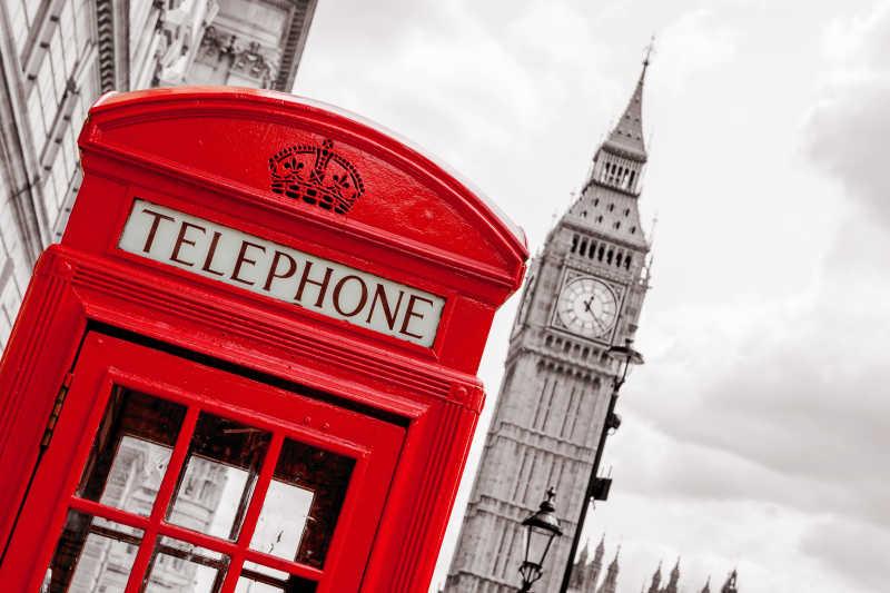 伦敦电话亭