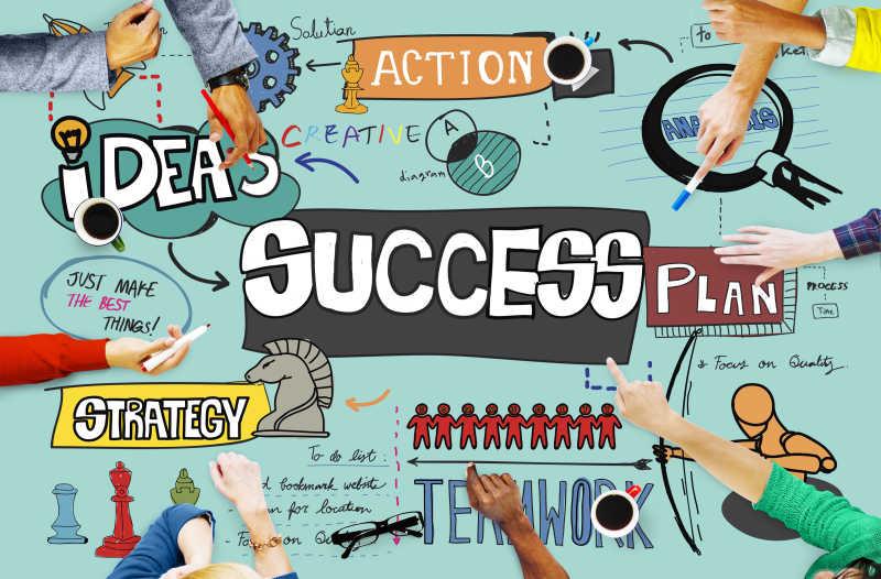 成就改进目标概念会议