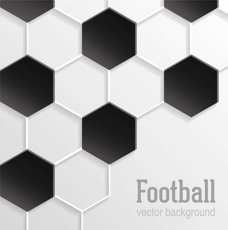 矢量足球题材背景