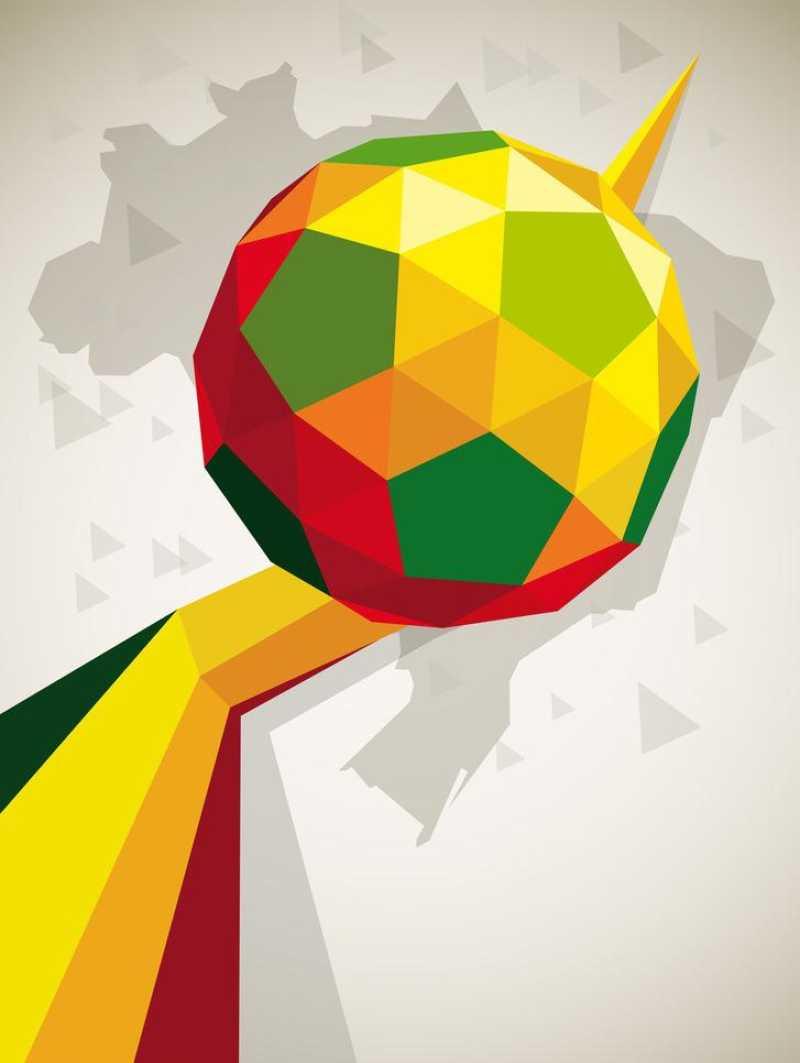 足球海报矢量