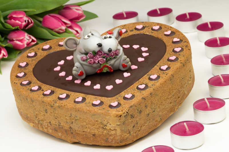 美味的蛋糕甜点