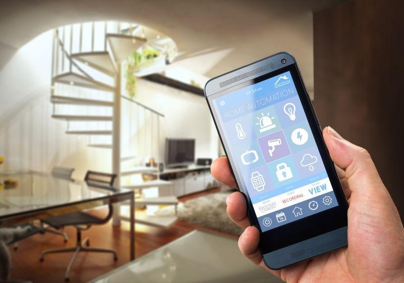 现代手机智能房屋