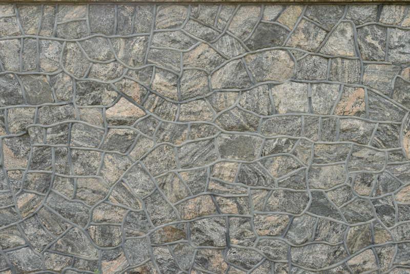 由大石块形成的文凯背景