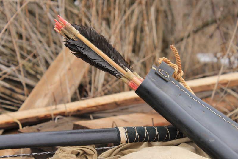 野外的弓箭