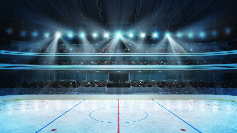 冰球场的背景图