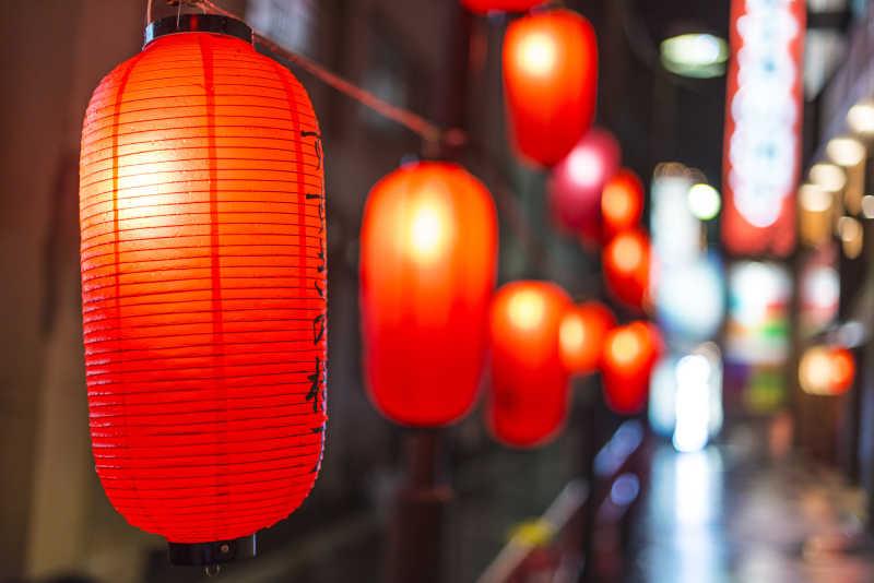 日本的街灯