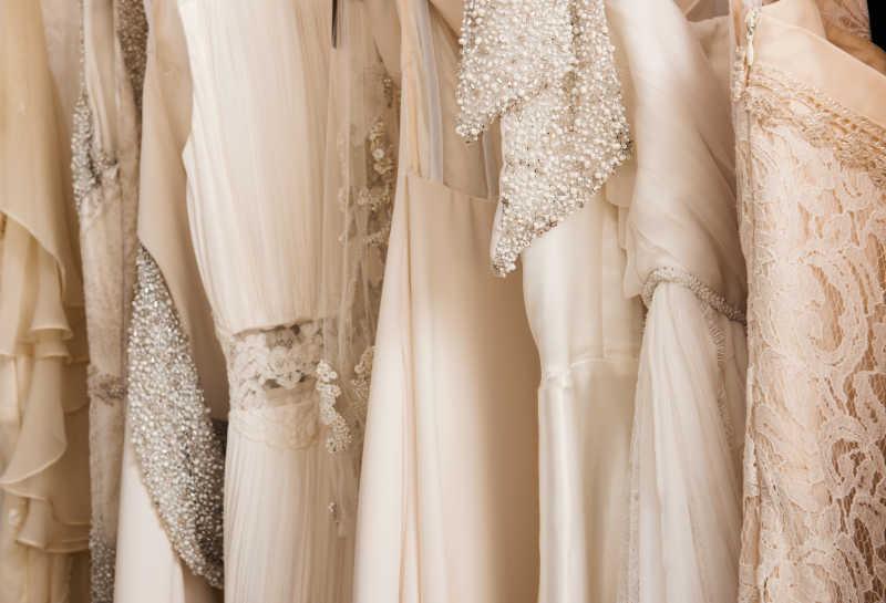 漂浪的各式婚纱
