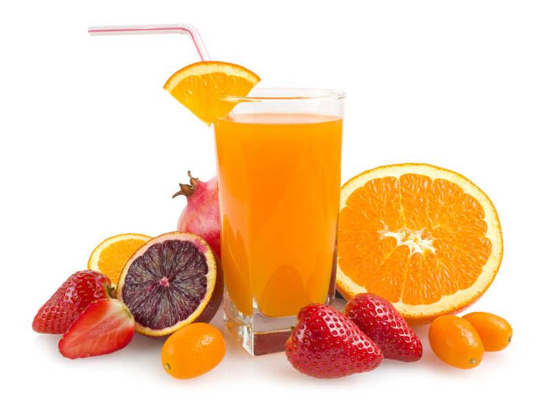美味新鲜的果汁