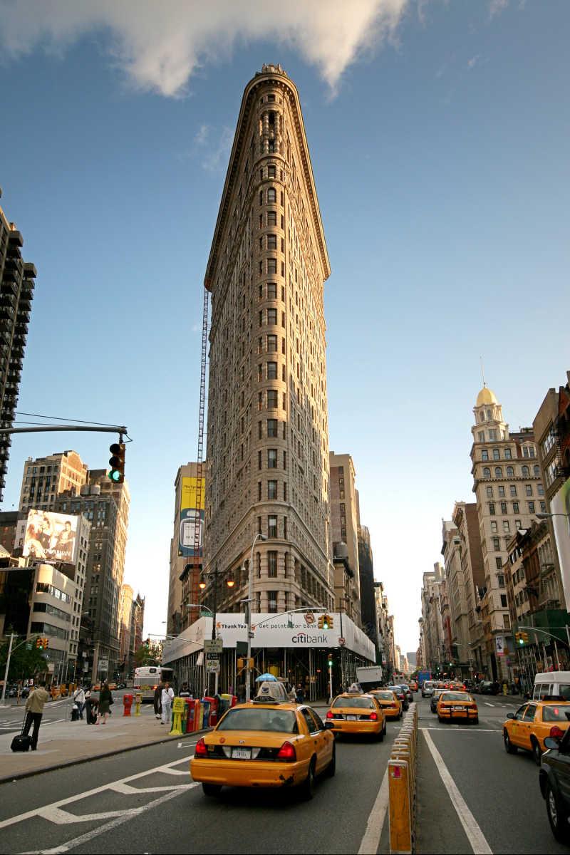 纽约熨斗大厦