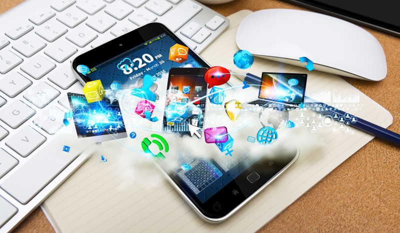 网络让各种电子设备连接在一起