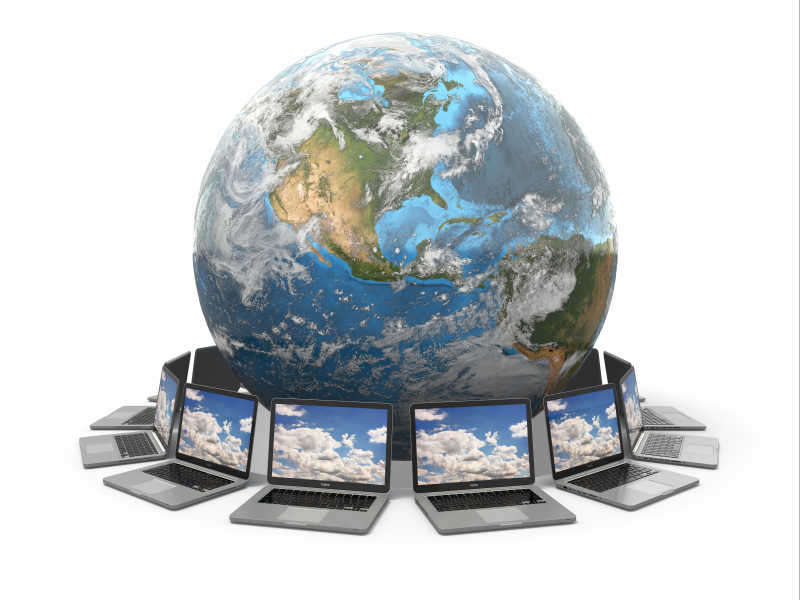 地球玉笔记本电脑