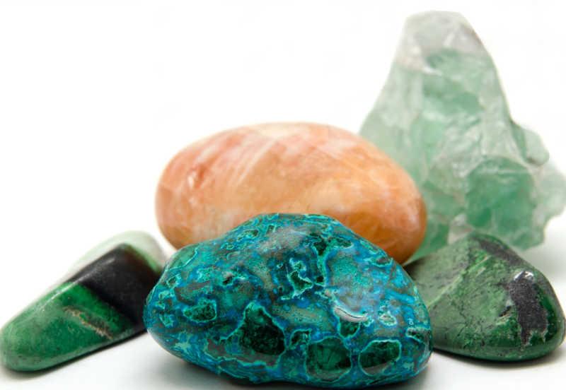 各种矿物和晶体