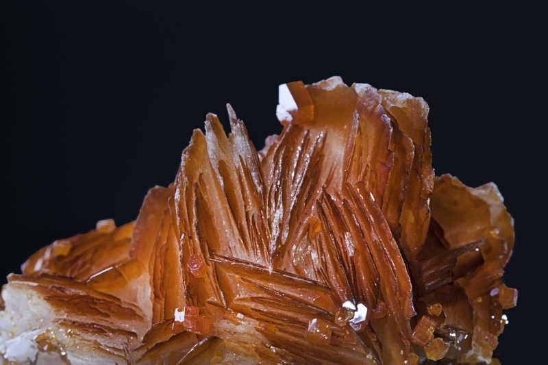 摩洛哥钒铅矿矿物晶体