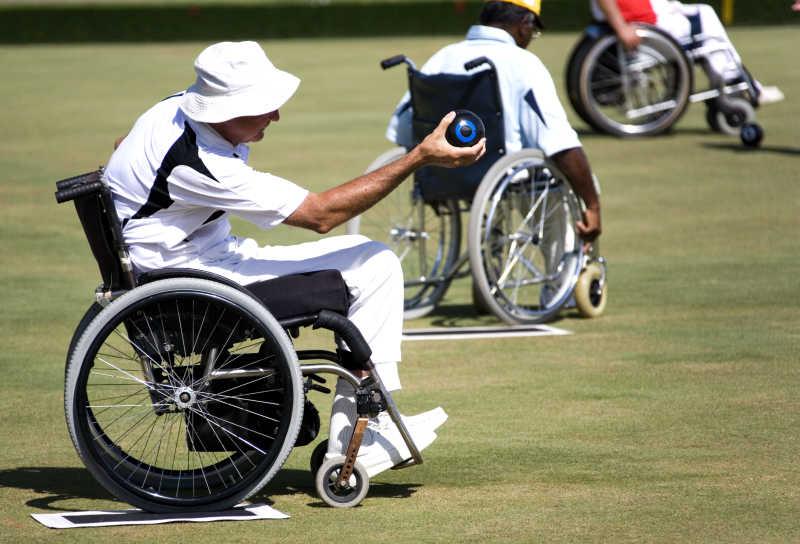 残疾人比赛