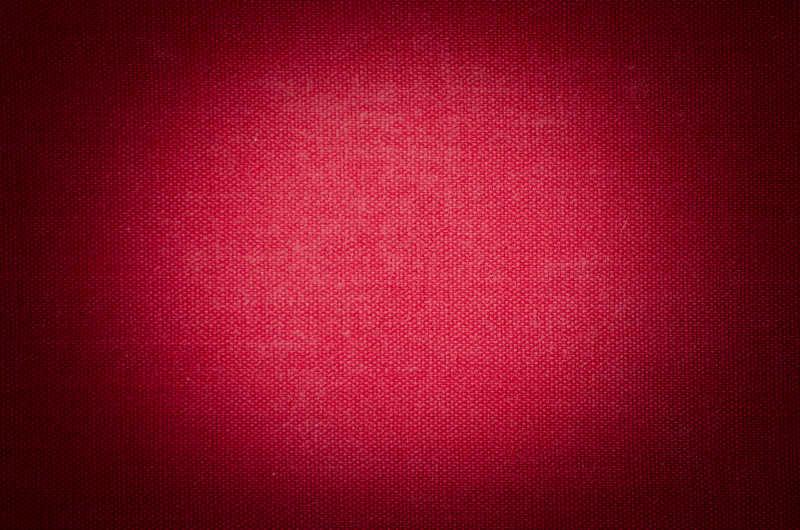 红色布料纹理背景