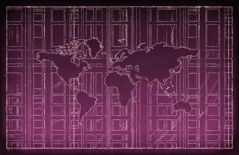 商业地图背景