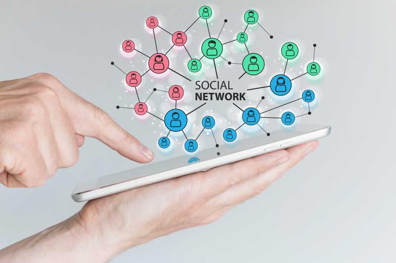移动网络社交覆盖概念
