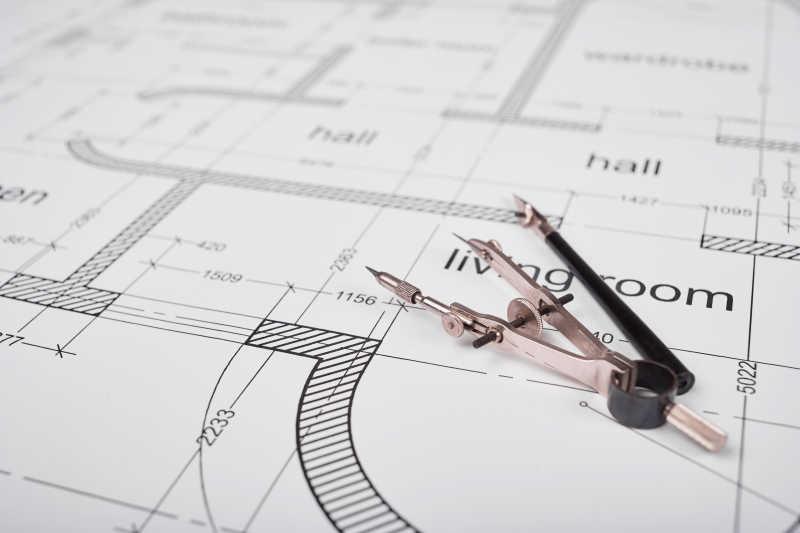 建筑平面图和绘图工具