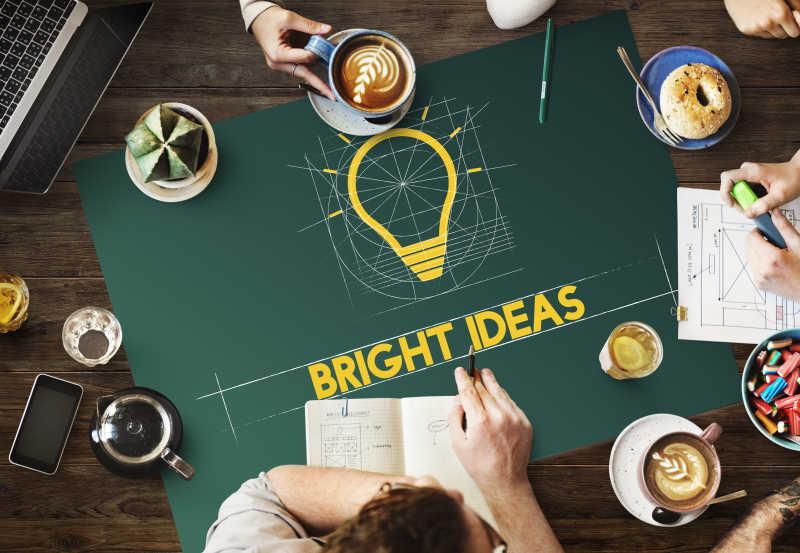 创意想法头脑风暴会议讨论