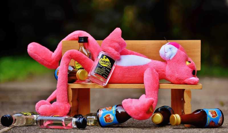 醉酒的豹子