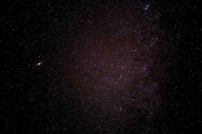 璀璨的星空背景