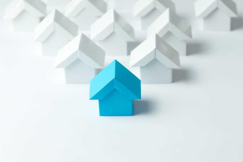 房地产行业中的房屋模型