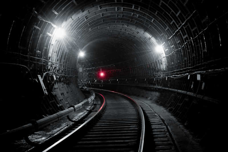 基辅地铁的隧道