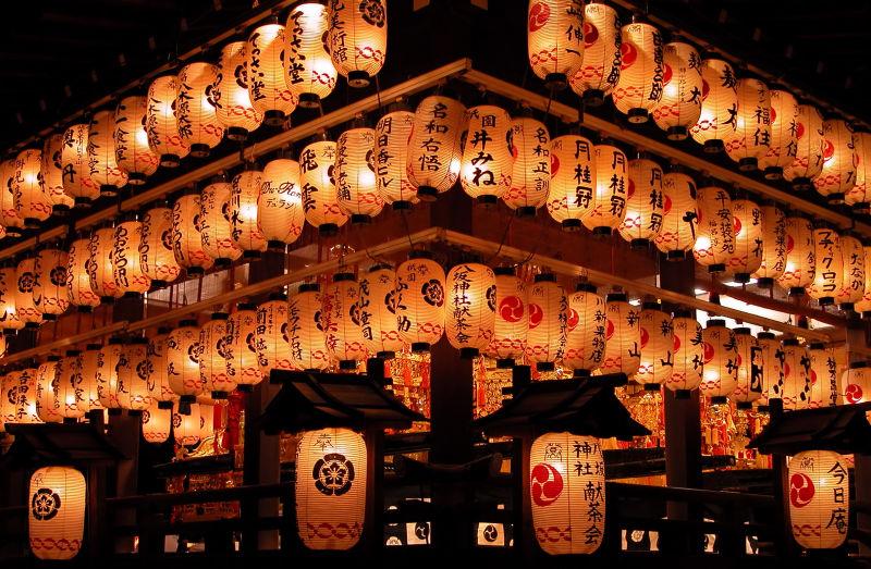 日本夜市灯笼