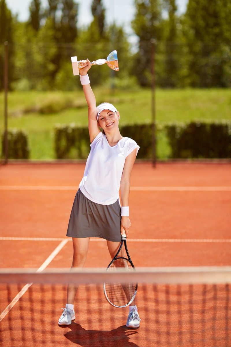网球高手优胜者