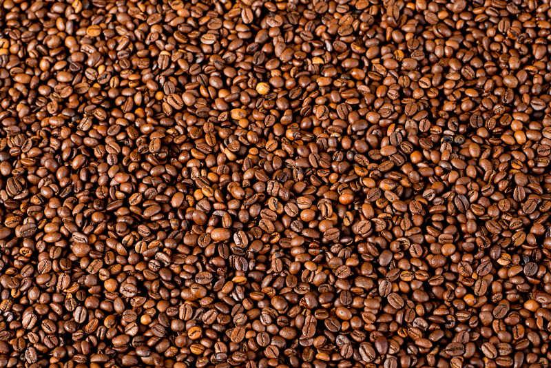 许多的咖啡豆