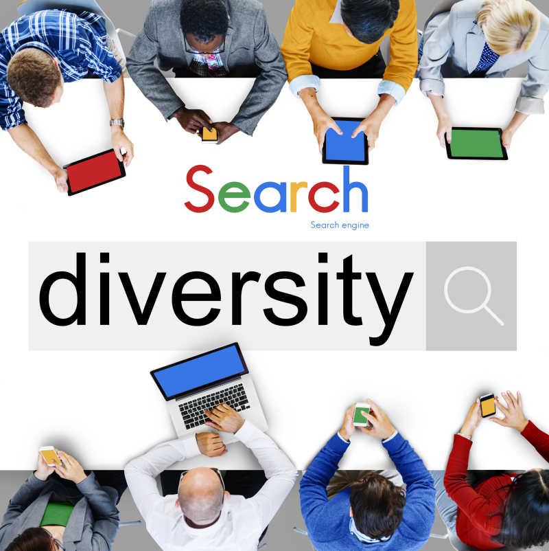 多样性社交网络概念