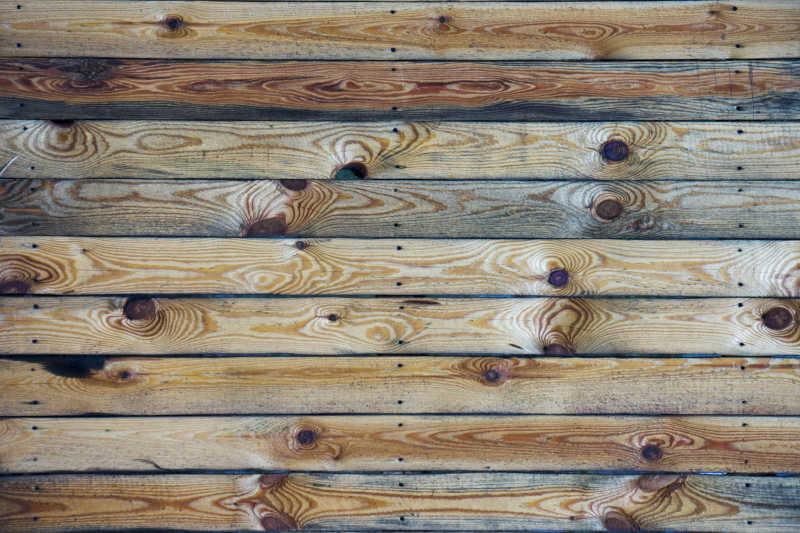 自然硬木背景纹理