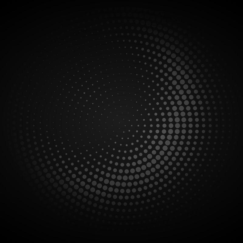 灰色圆点的矢量背景
