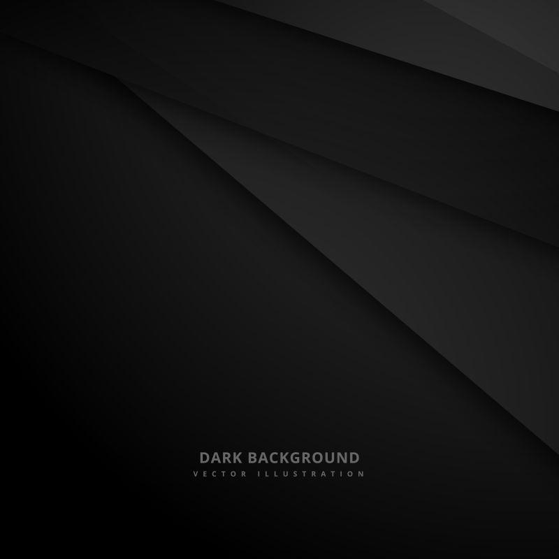 黑色条纹形状的矢量背景