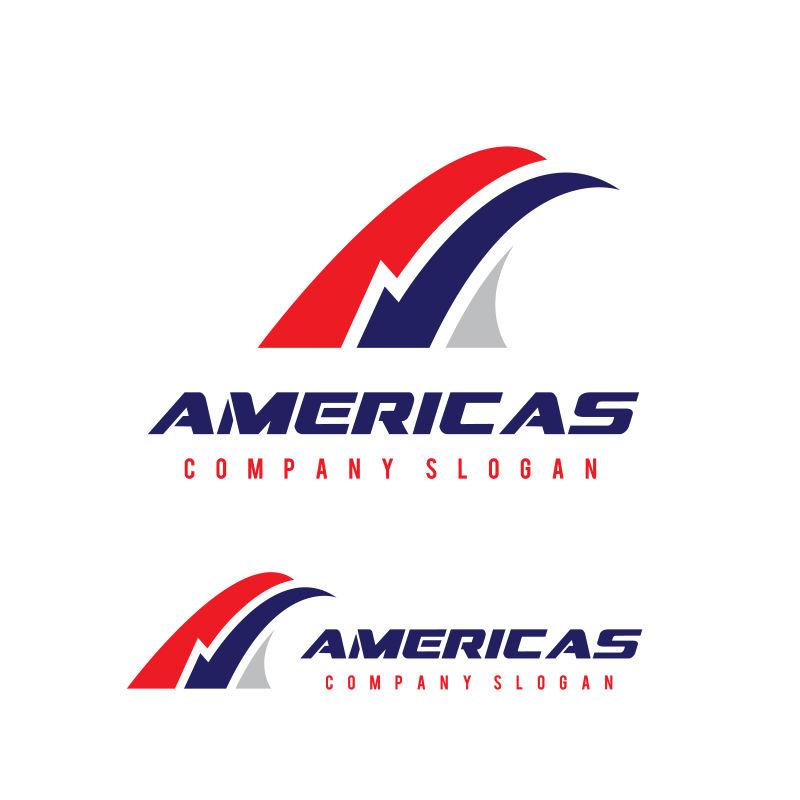 矢量创意美国航空公司标志设计