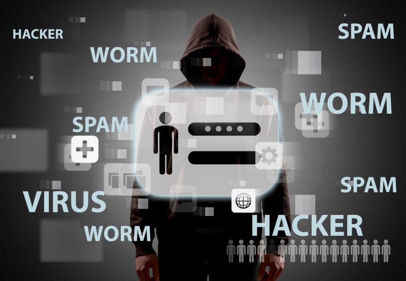 创意互联网黑客素材图