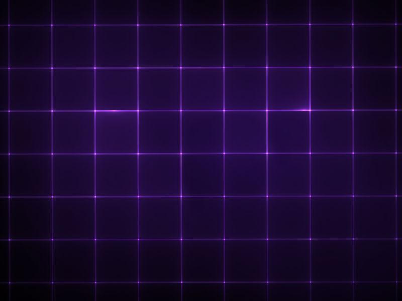 紫色电子网格背景图案