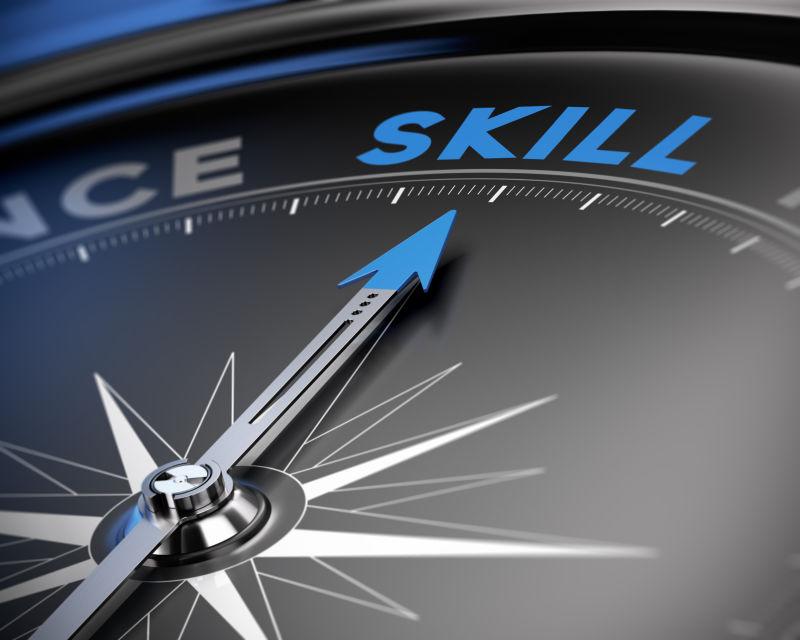 指南针指点指向技能单词