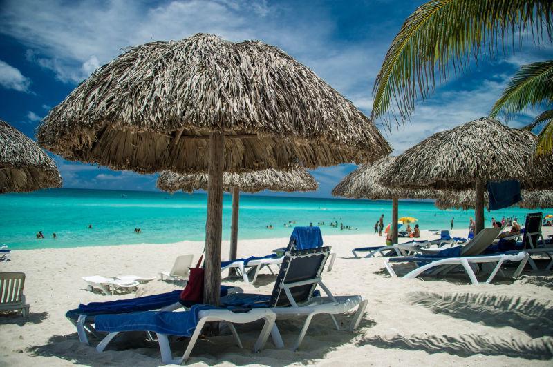 海滩豪华休闲度假自然风景