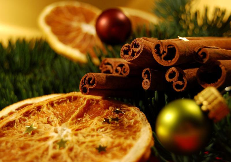 圣诞节的小食品
