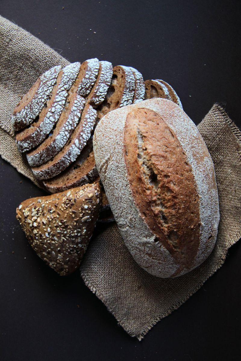 让人很有食欲的手工面包