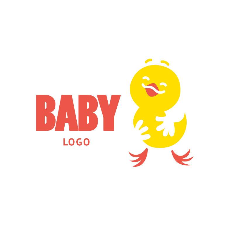 矢量的婴儿主题logo设计