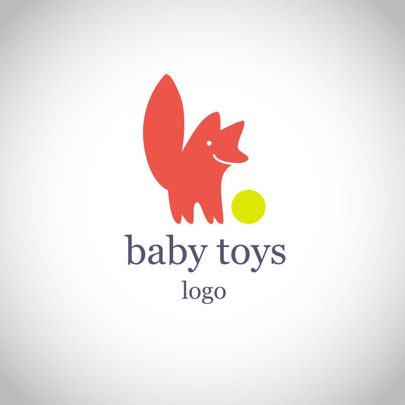 矢量的婴儿店商标设计