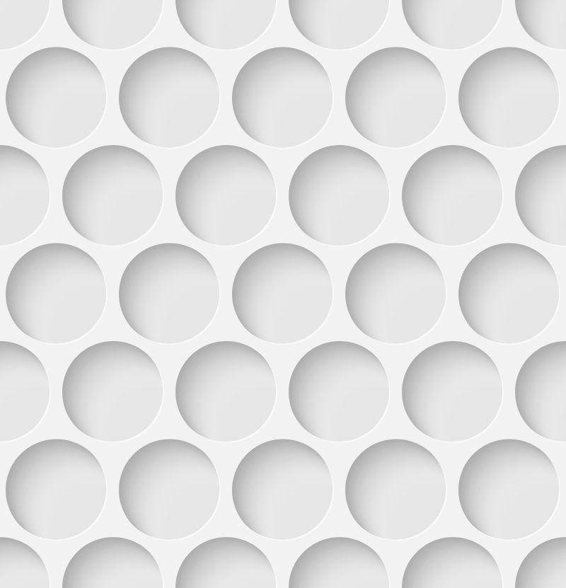 白色的剪纸风格镂空背景矢量设计