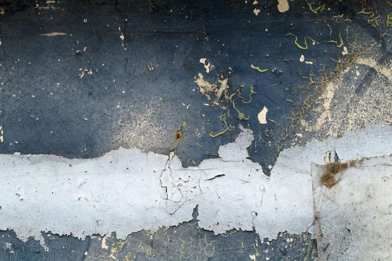 破碎的金属纹理背景