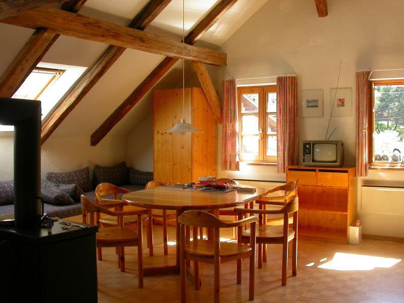 阁楼小型会客室的装修设计效果