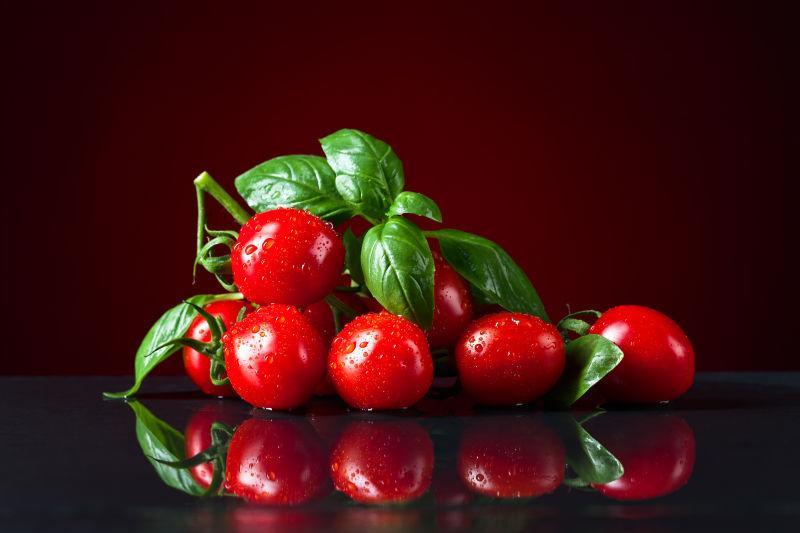 美味营养的红色小番茄