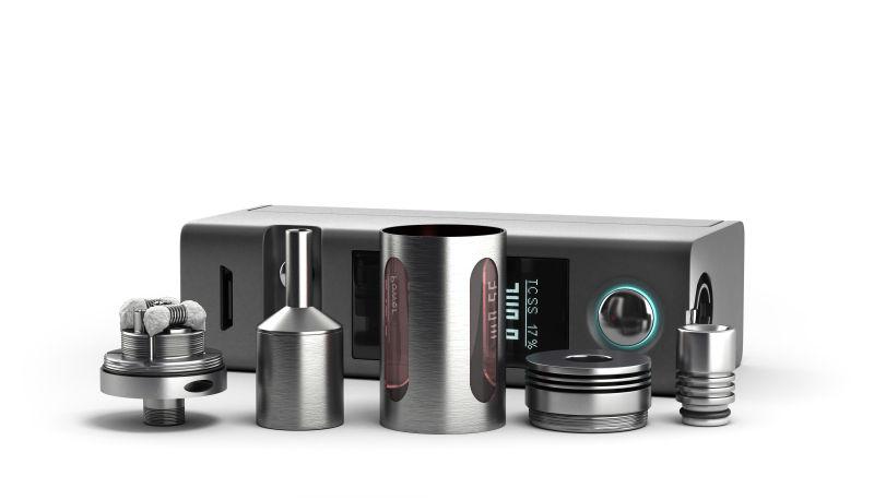 6种配件的电子烟