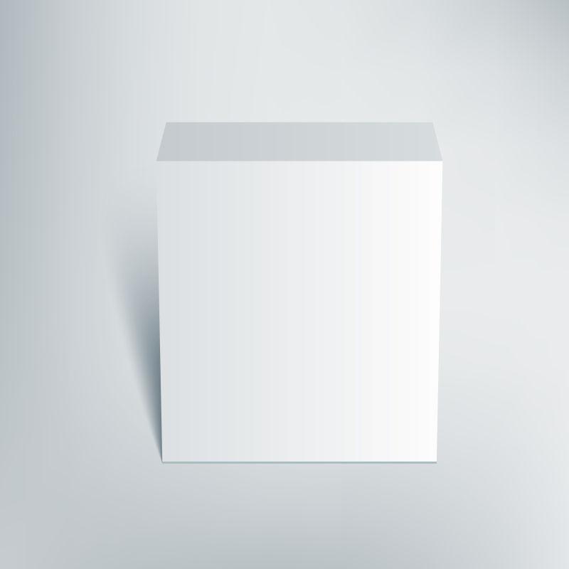 矢量的包装盒插图